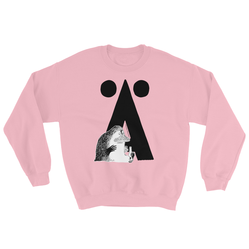 Ä - Moomin Alphabet Sweatshirt - feat. the Groke