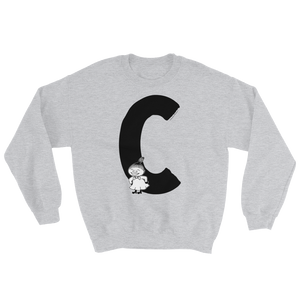 C - Moomin Alphabet Sweatshirt - feat. Little My