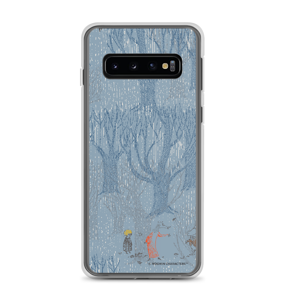 A day in November blue Samsung case