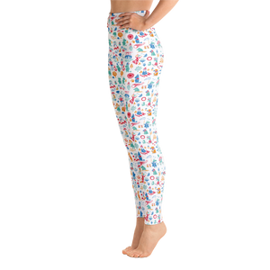 Moomin valley yoga leggings