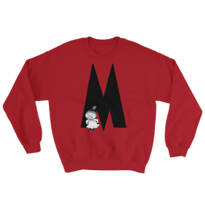 M - Moomin Alphabet Sweatshirt - feat. Little My