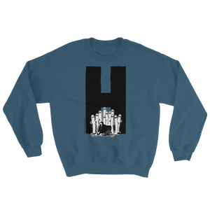 Moomin Alphabet sweatshirt - H as in Hattifatteners