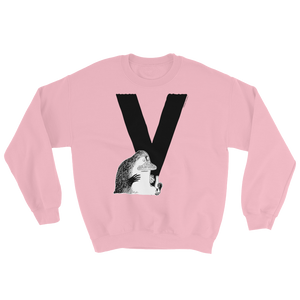 V - Moomin Alphabet Sweatshirt - feat. the Groke
