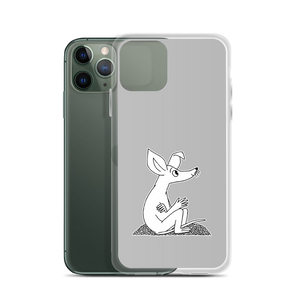 Sniff iPhone case grey
