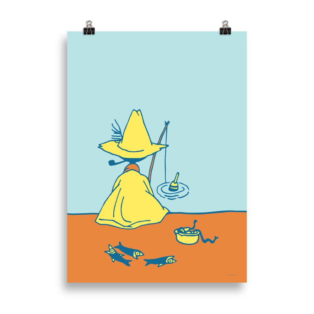 #OURSEA poster - Snufkin