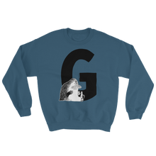Load image into Gallery viewer, G - Moomin Alphabet Sweatshirt - feat. the Groke