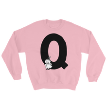 Load image into Gallery viewer, Q - Moomin Alphabet Sweatshirt - feat. Little My