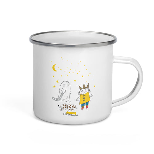 Little Spook Laban and stars Enamel Mug