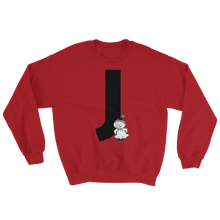 Load image into Gallery viewer, J - Moomin Alphabet Sweatshirt - feat. Little My