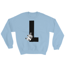 Load image into Gallery viewer, Moomin Alphabet sweatshirt - L as in Little My