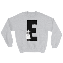 Load image into Gallery viewer, E - Moomin Alphabet Sweatshirt - feat. Snufkin