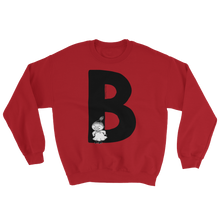Load image into Gallery viewer, B - Moomin Alphabet Sweatshirt - feat. Little My