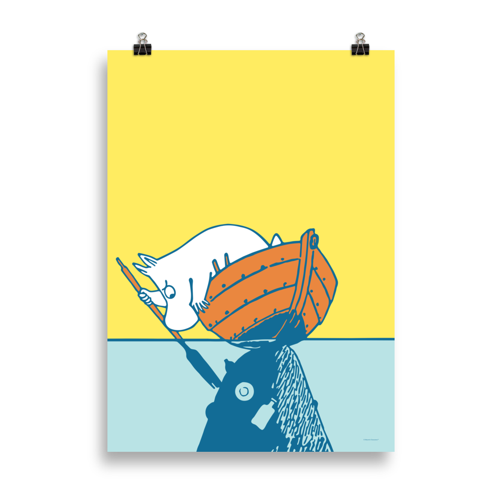 #OURSEA poster - Moomin