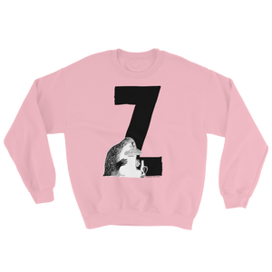 Z - Moomin Alphabet Sweatshirt - feat. the Groke