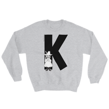 Load image into Gallery viewer, K - Moomin Alphabet Sweatshirt - feat. Snufkin