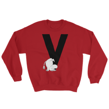 Load image into Gallery viewer, V - Moomin Alphabet Sweatshirt - feat. Moomin