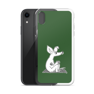 Sniff iPhone case forest green