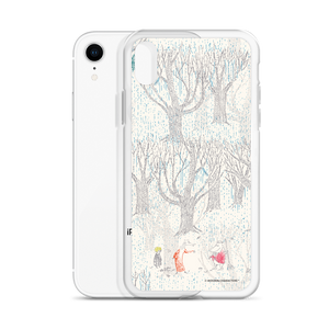 A day in November beige iPhone case