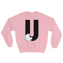 Load image into Gallery viewer, U - Moomin Alphabet Sweatshirt - feat. Moomin