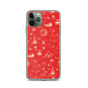Comet adventure iPhone case