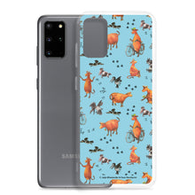 Load image into Gallery viewer, Blue Mamma Moo and the Crow Samsung Case