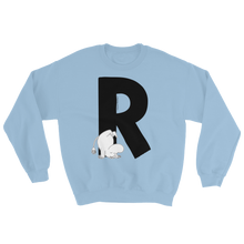 Load image into Gallery viewer, R - Moomin Alphabet Sweatshirt - feat. Moomin