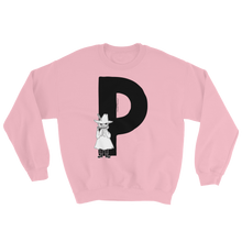 Load image into Gallery viewer, P - Moomin Alphabet Sweatshirt - feat. Snufkin