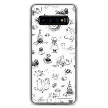 Load image into Gallery viewer, Comet adventure Samsung case black and white