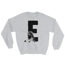 Load image into Gallery viewer, Moomin Alphabet sweatshirt - E as in Edward The Booble