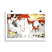 Load image into Gallery viewer, Moomin Comic book cover 7 Poster Skandibrand