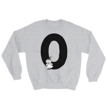 Load image into Gallery viewer, O - Moomin Alphabet Sweatshirt - feat. Little My