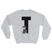 Load image into Gallery viewer, Moomin Alphabet sweatshirt - T as in Toffle