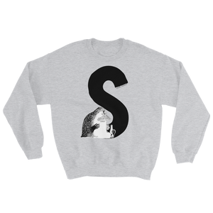 S - Moomin Alphabet Sweatshirt - feat. the Groke