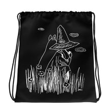Load image into Gallery viewer, Moomin & Snufkin Field Drawstring bag