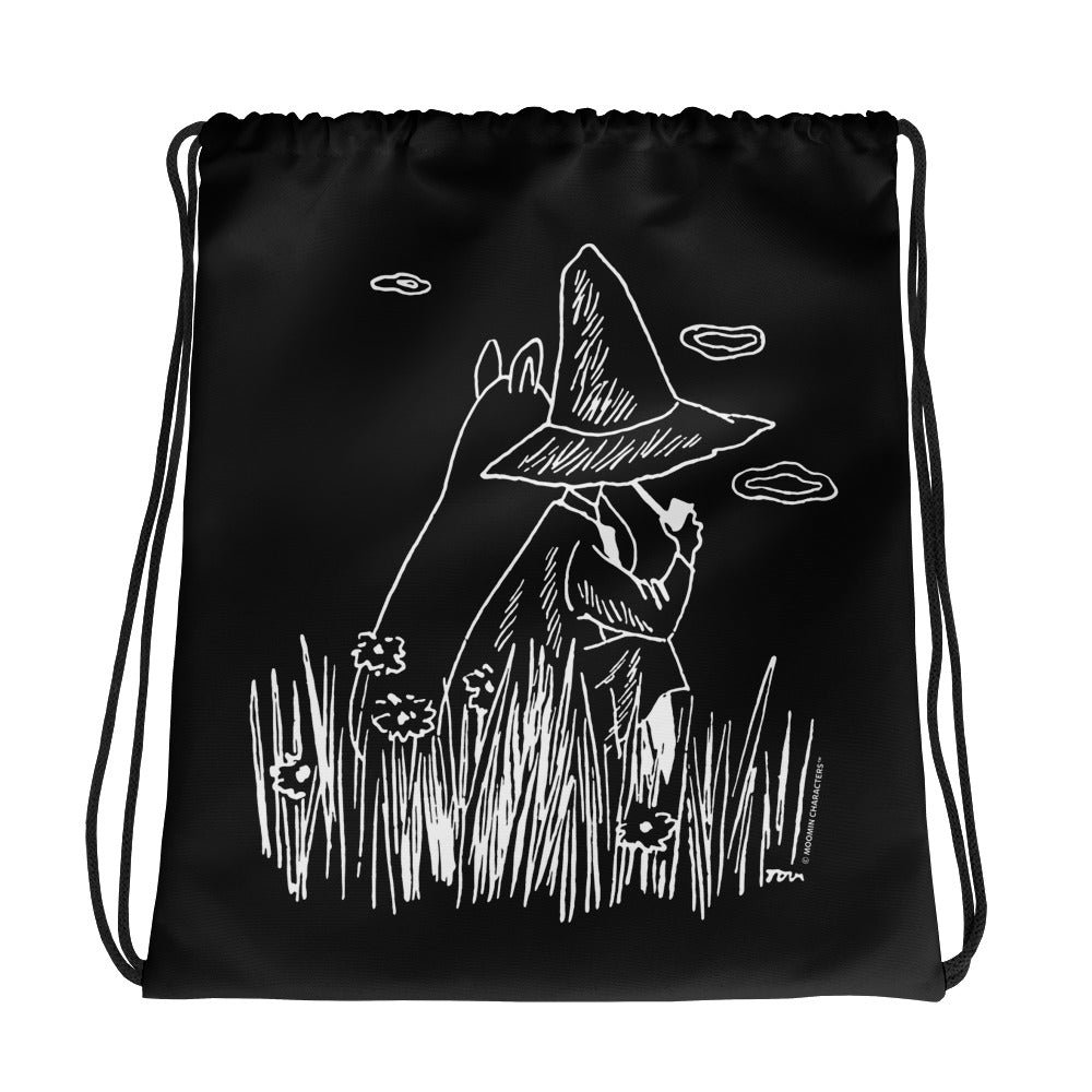 Moomin & Snufkin Field Drawstring bag