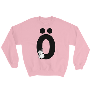 Ö - Moomin Alphabet Sweatshirt - feat. Little My
