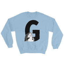 Load image into Gallery viewer, Moomin Alphabet sweatshirt - G as in Groke