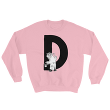Load image into Gallery viewer, Moomin Alphabet sweatshirt - D as in Dr Hatter