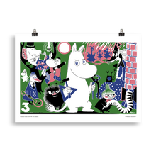 Load image into Gallery viewer, Moomin Comic book cover 3 Poster Skandibrand