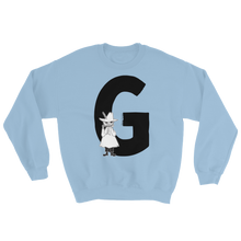 Load image into Gallery viewer, G - Moomin Alphabet Sweatshirt - Snufkin