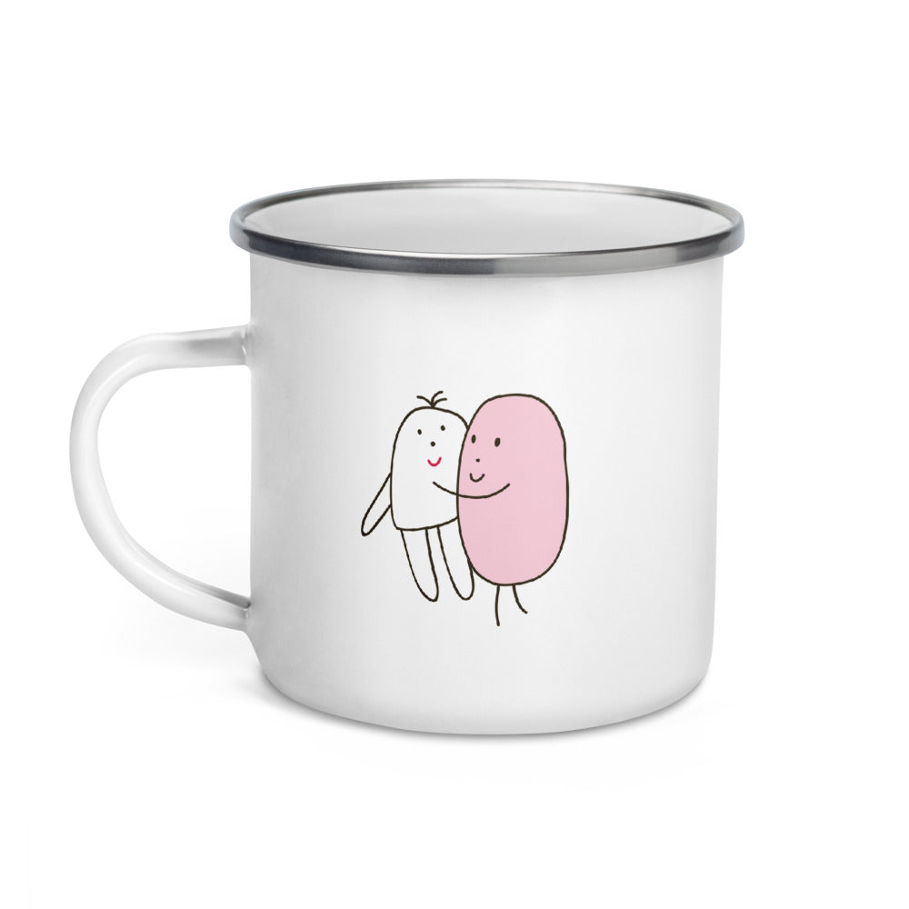 The Thumb Enamel Mug