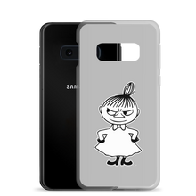 Load image into Gallery viewer, Little My Samsung case grey