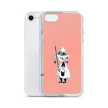 Load image into Gallery viewer, Snufkin iPhone case pink