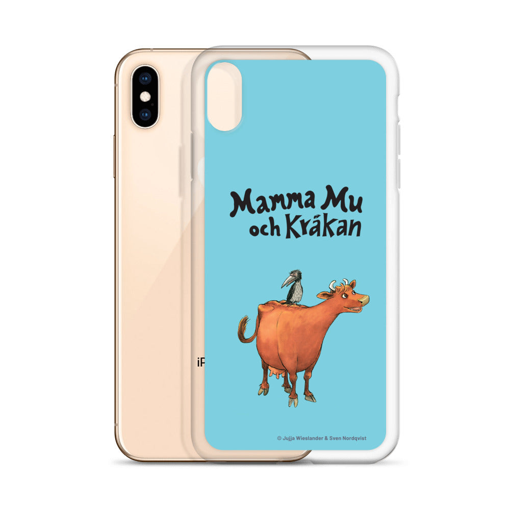 Mamma Moo and the Crow Blue iPhone Case