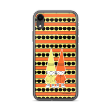 Load image into Gallery viewer, Button & Popper orange apple stripes iPhone case