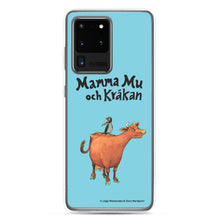 Load image into Gallery viewer, Mamma Moo and the Crow Samsung Case in blue