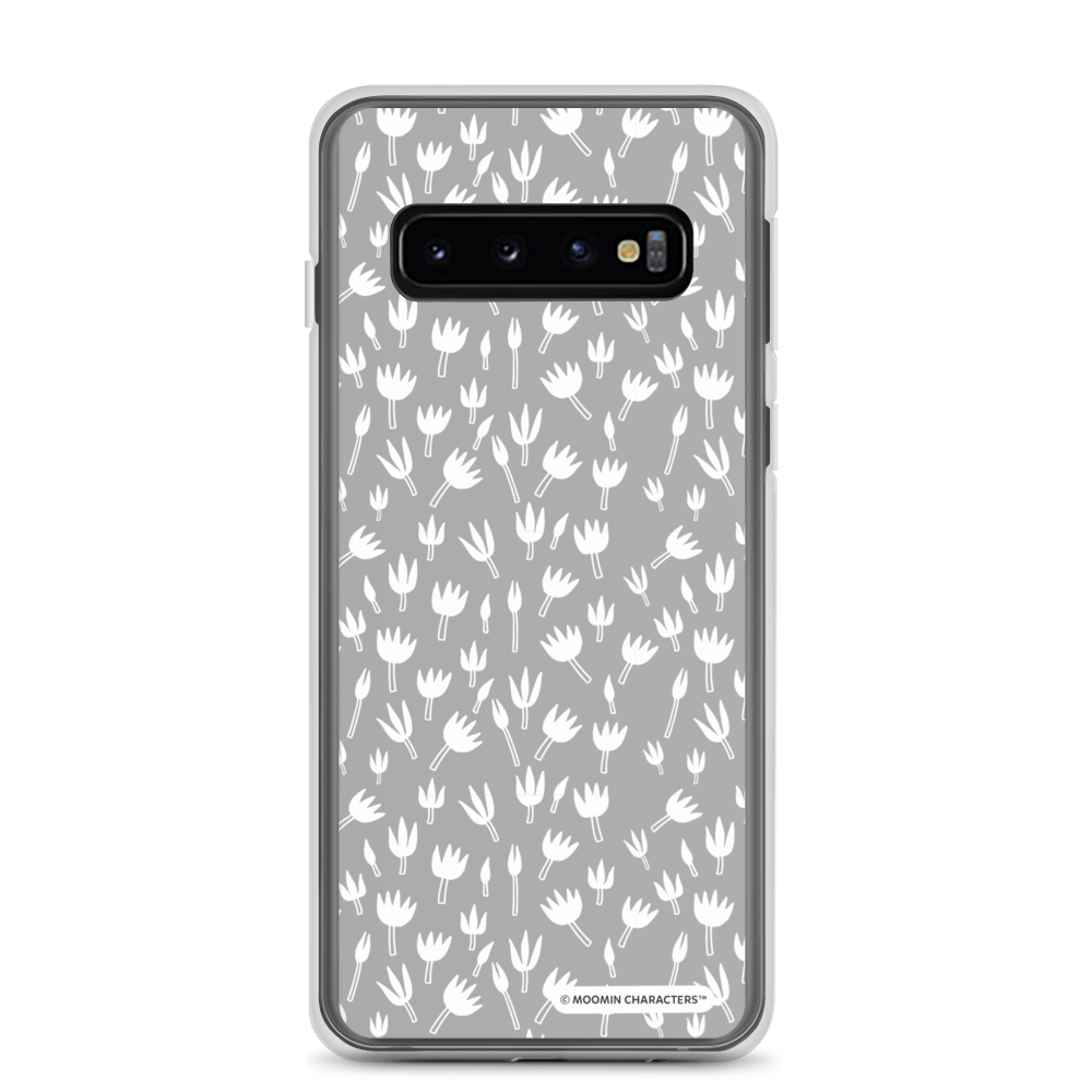 Moomin - Grey flowers Samsung case