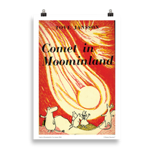 Load image into Gallery viewer, Moomin poster - Comet in Moominland
