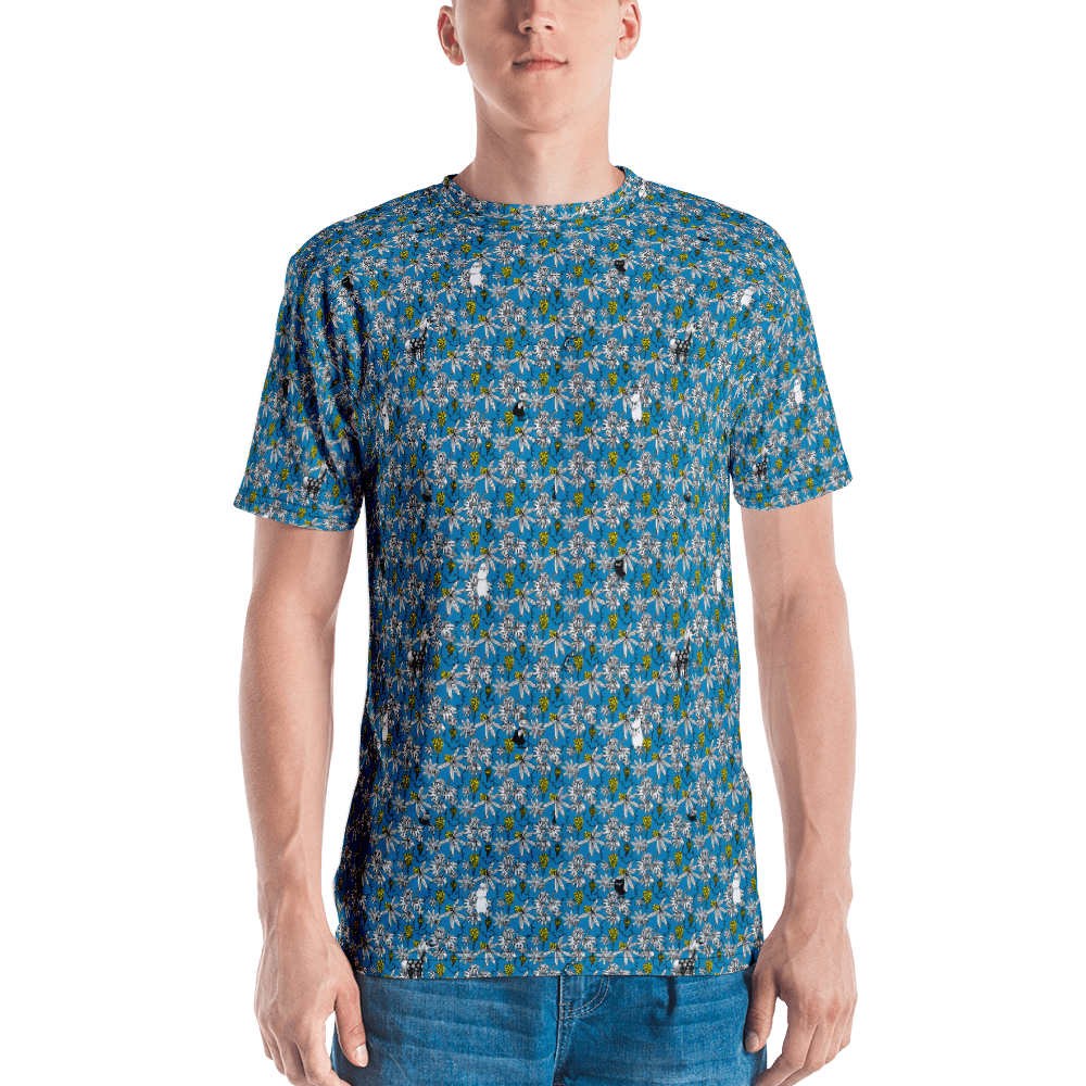 Lost in the valley blue T-shirt