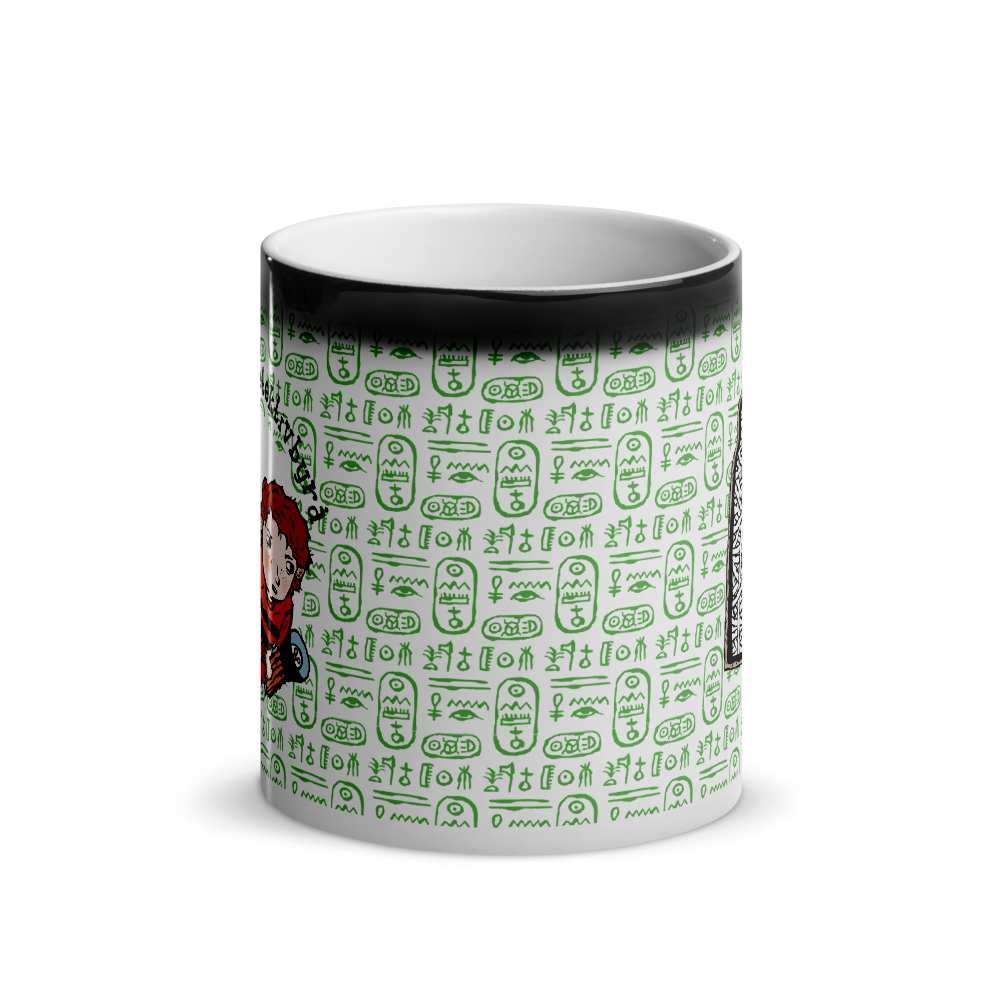 The Whodunit Detective Agency - The Mummy Mystery - Glossy magic mug